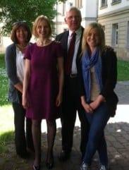 Lucy, Dr Kinsler, Dr Atherton & Jodi