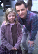 Eva with Harry from Mcfly