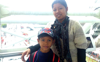 An interview with Luz Nery (Didier's mum)