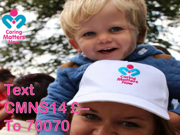 SUPPORT OUR £50,000 FUNDRAISING CAMPAIGN FOR CMN RESEARCH