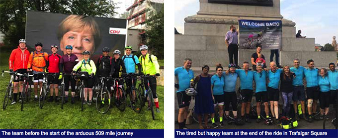 Metro Safety 6 in 6 Charity Bike Ride
