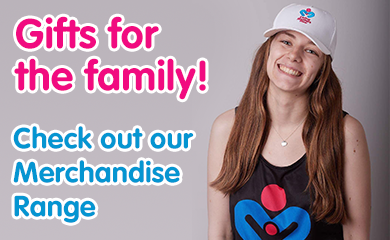 Gifts for the family! Check out our Merchandise Range