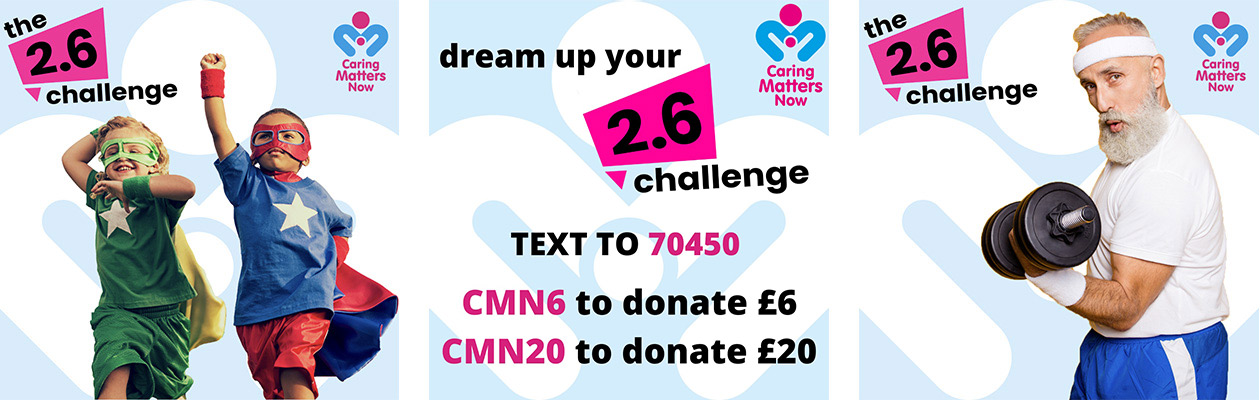 Join in the nationwide 2.6 Challenge