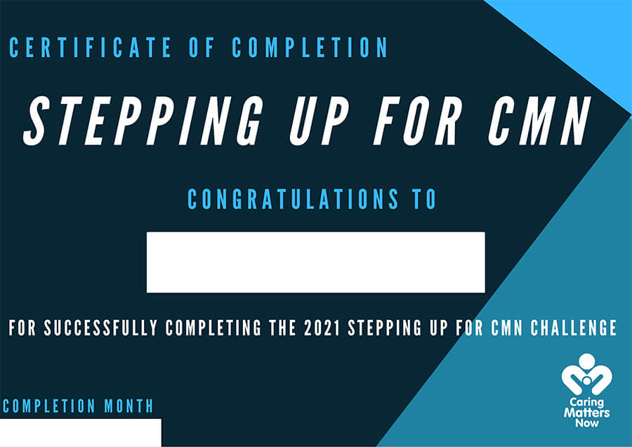 Stepping up for CMN