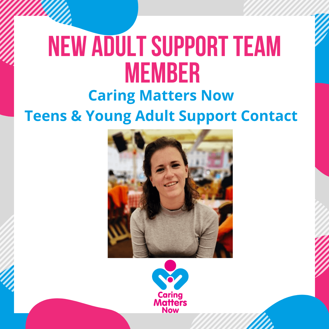 Introducing a new team member to our Adult Support Team