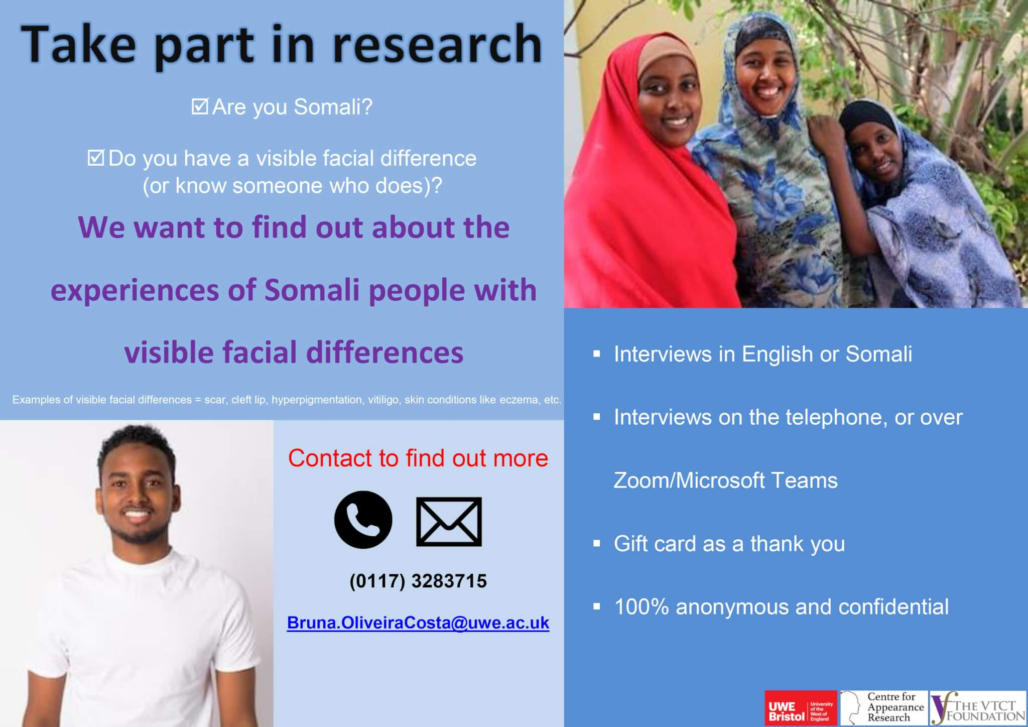 Centre for Appearance Research Project