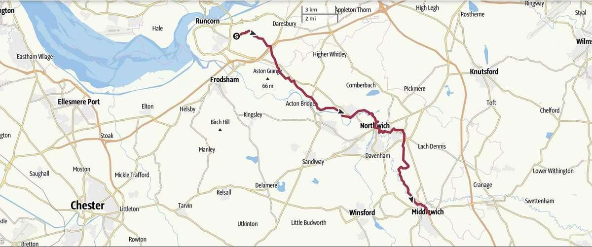 Day 2 - Runcorn to Middlewich